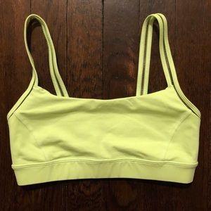 lululemon athletica Intimates & Sleepwear - Lululemon Straight Up Bra Clear Mint
